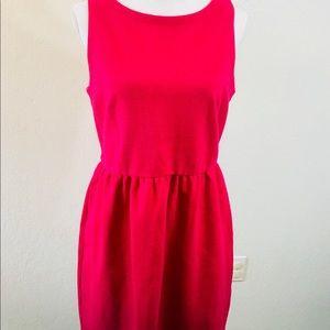 Ann Taylor LOFT Womens Dress Sz 8 hot pink